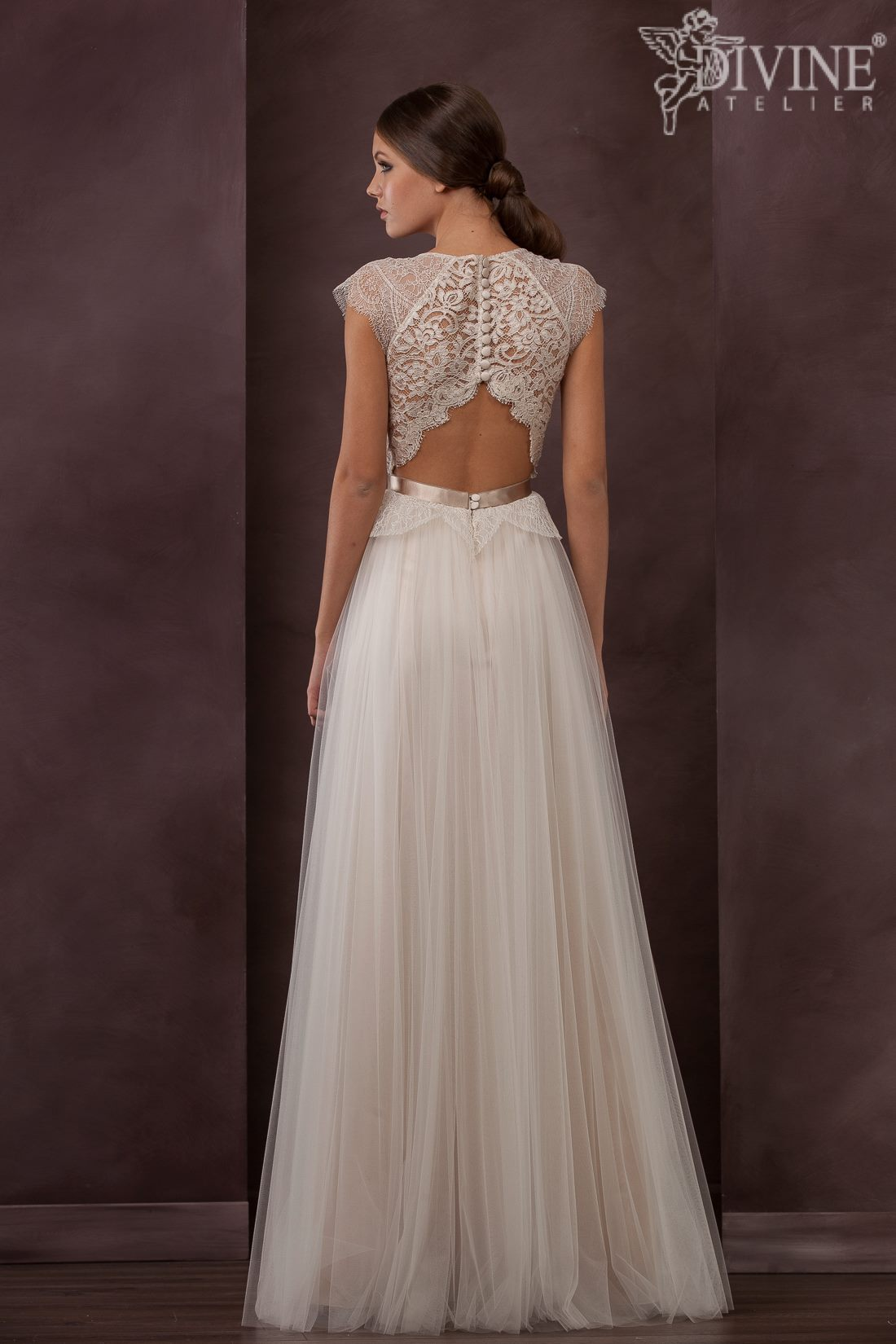 Bridal gown back 2015