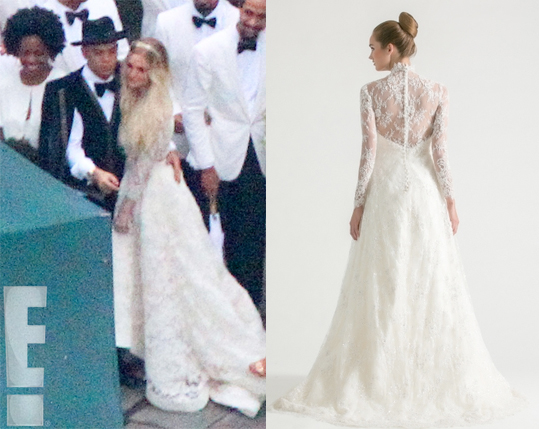 Ashlee Simpson wedding dress