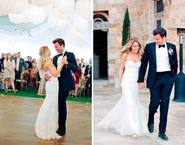 Lauren Conrad-Bagdley Mischka wedding dress