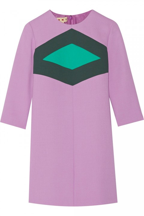 2015 New Year's Eve Marni Purple Dress