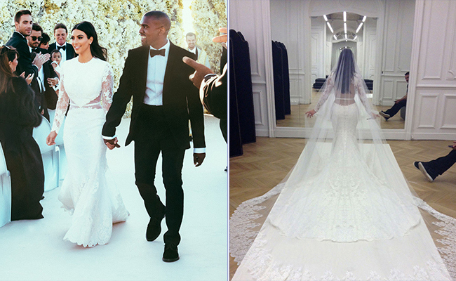 kim Kardashian- Givenchy wedding dress