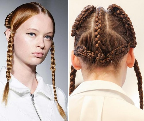 spring_2015_braided_hairstyles_from_runway_Maria_Ke_Fisherman_braids