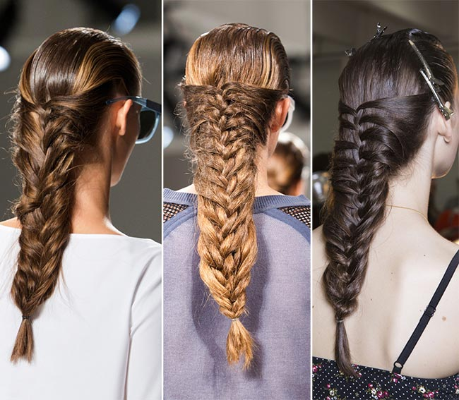 spring_2015_braided_hairstyles_from_runway_Suno_braids