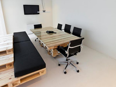 Brandbase Agency Amsterdam Office From Pallets