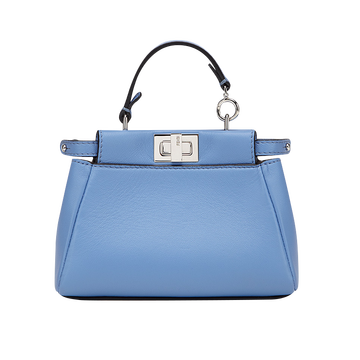 Fendi nappa leather micro Peekaboo bag, $1,550 For information: fendi.com