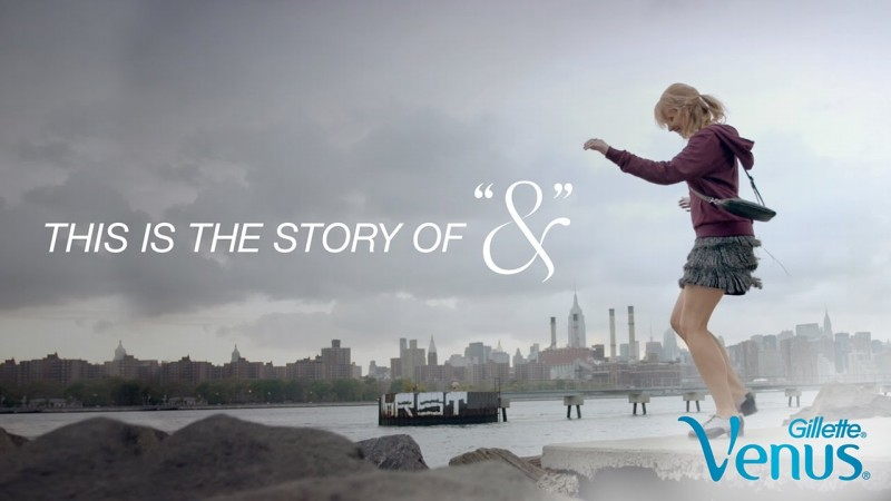 Gillette Venus- This is the Story of & Campaign
