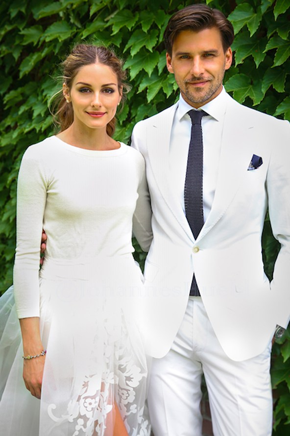 Olivia-Palermo 28 June14-Carolina Herrera skirt_wedding