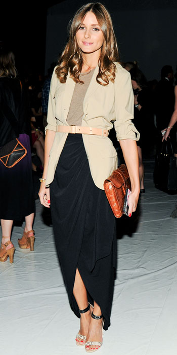 Olivia-Palermo-at Rachel Zoe spring Fashion Week