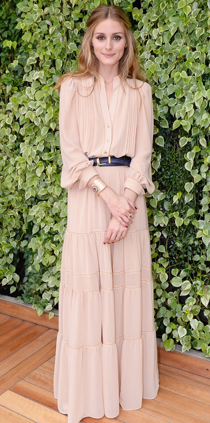 Olivia Palermo brings all her beauty to a private event       October 30, 2014