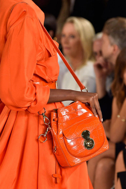 Ralph-Lauren Orange bag Spring 2015