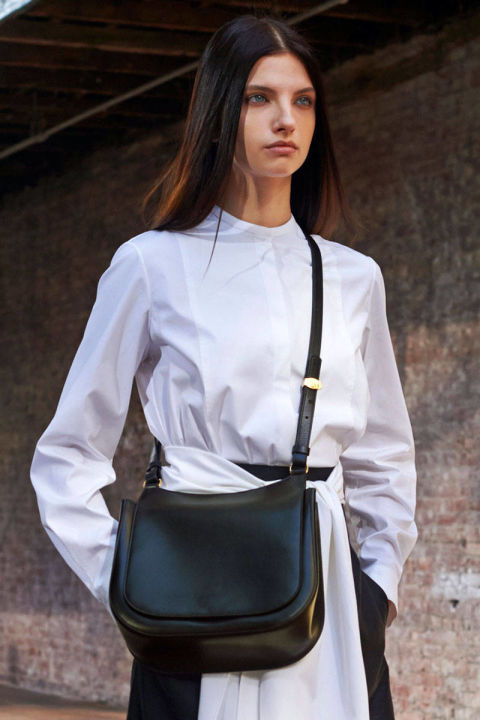 The Row Saddle bag Spring 2015