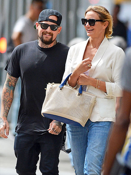 cameron-diaz and benji madden