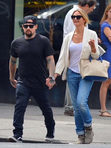 cameron-diaz-and-benji got married