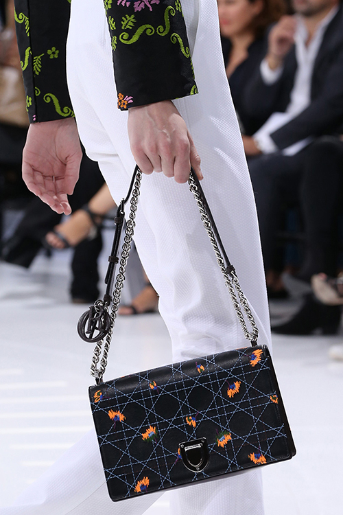 Dior Diorama bag, $6,300; Dior, NYC, 212.931.2950