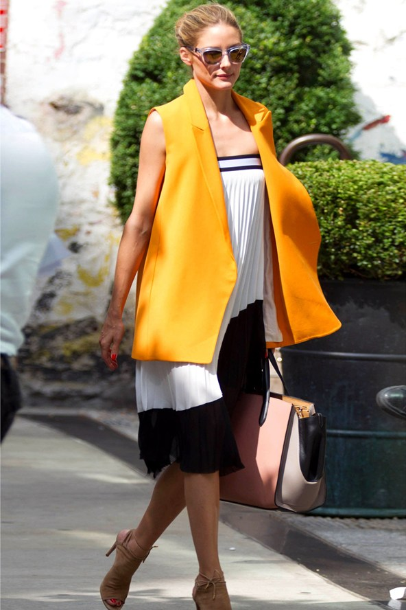 olivia-palermo-21jul14-Zara skirt