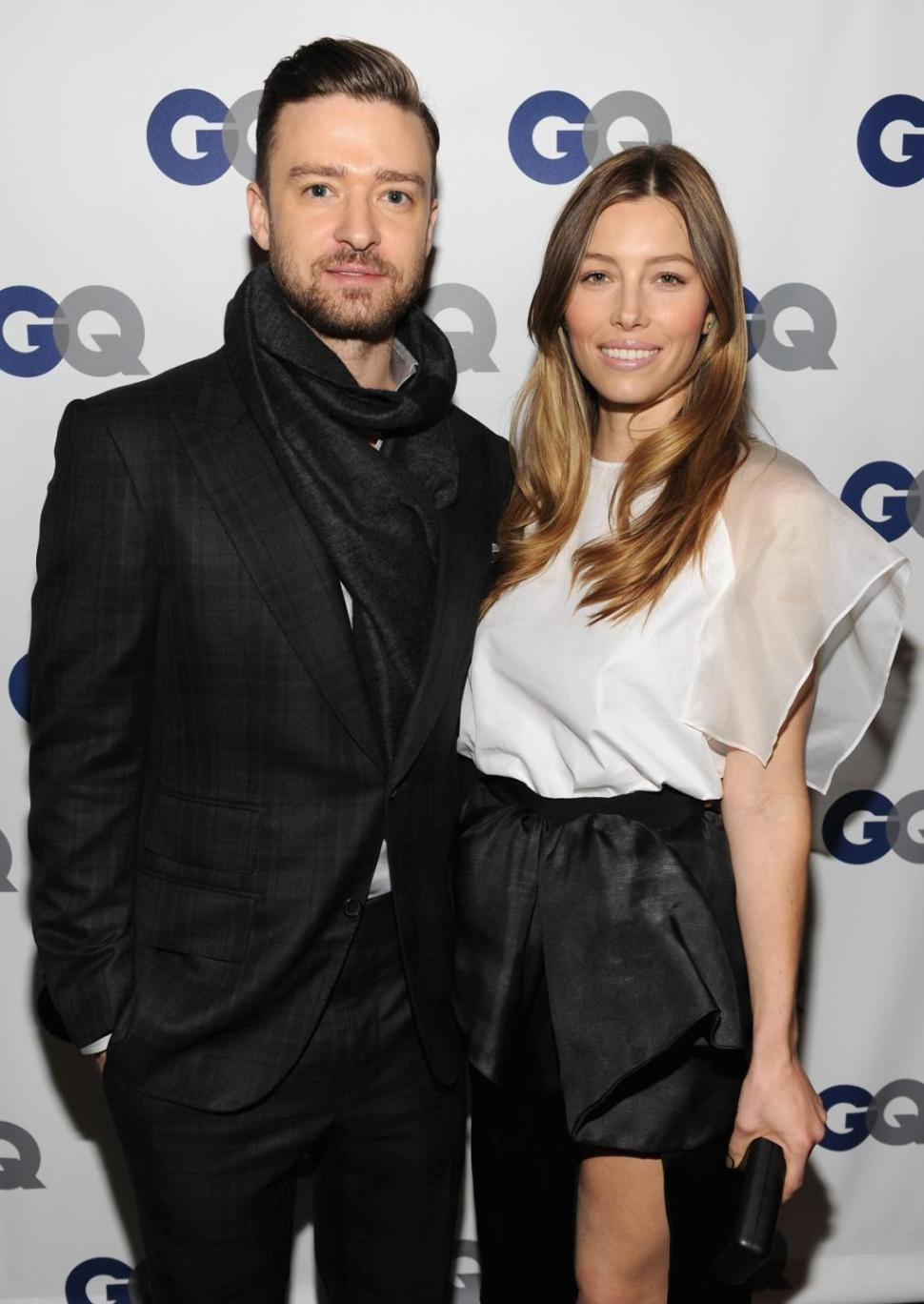 Justin Timberlake and Jessica Biel are expecting a baby in April