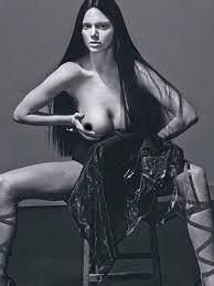 Kendall Jenner posed topless in LOVE Magazine