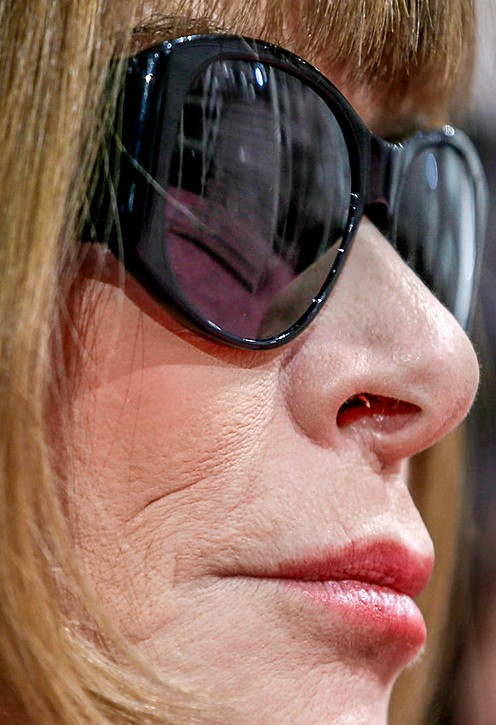 Anna Wintour close up photo