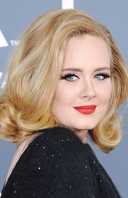 Adele- Bob Volume with chubby cheeks