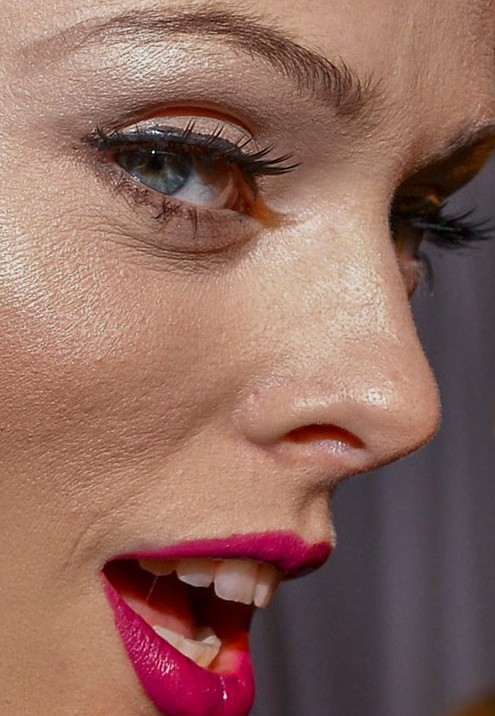 Coco Rocha close up photo