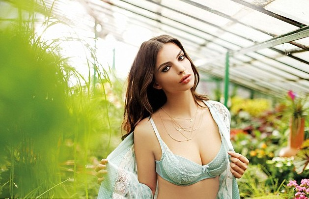 Emily Ratajkowski is only 23 year old  (Yamamay Lingerie Spring-Sumer 2015)