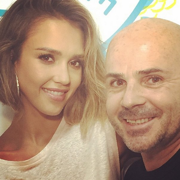 Jessica Alba's Hair Stylist Giannandrea
