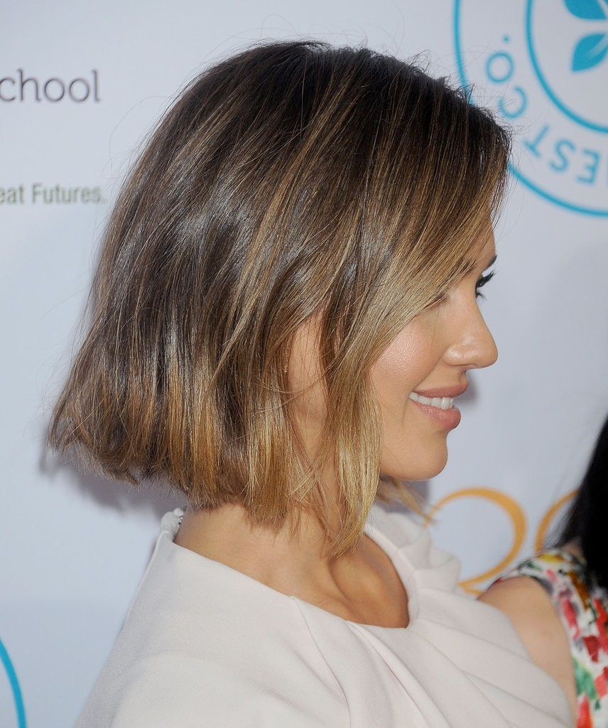 Jessica Alba Bob From Side