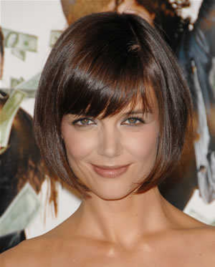 Katie Holmes- bob with bangs