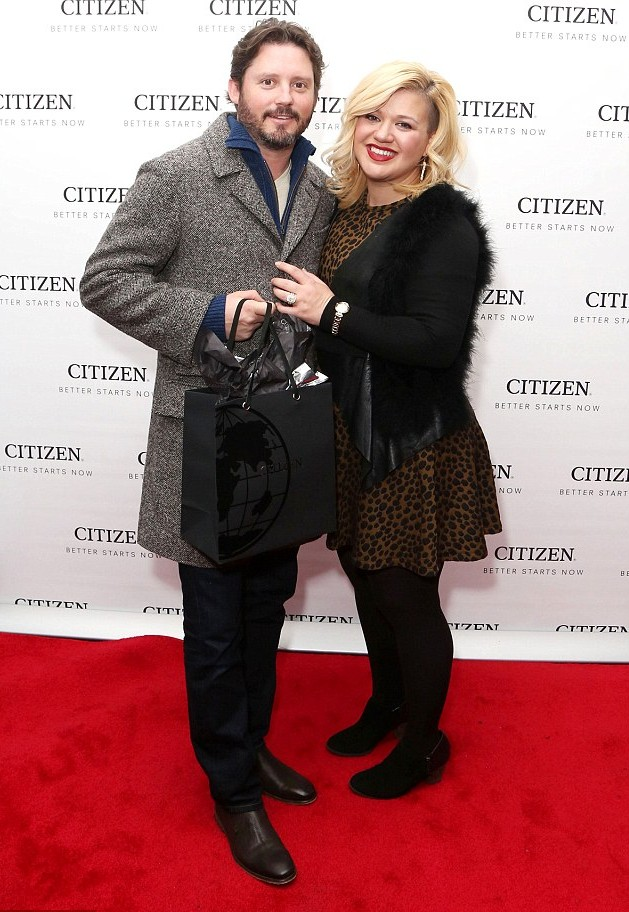 Kelly Clarkson and her husband Brandon Blackstock married in 2013