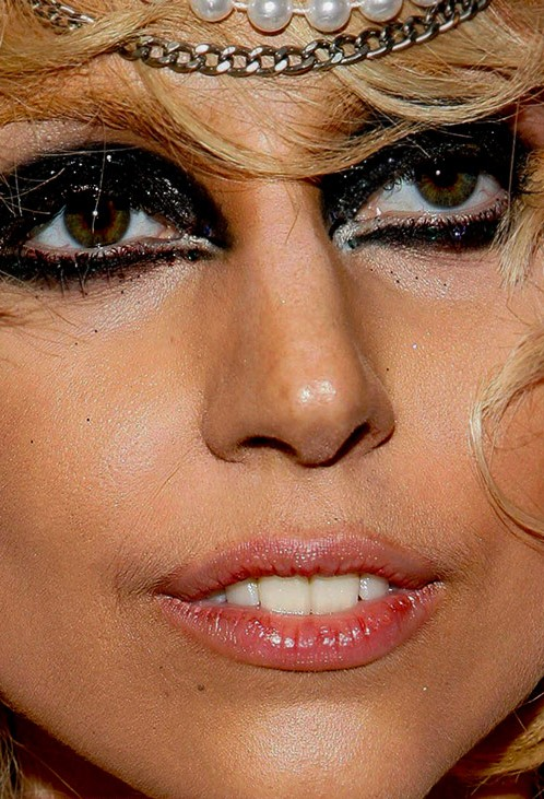 Lady Gaga close up photo
