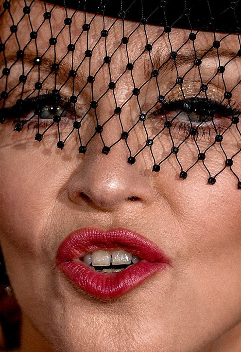 Madonna close up photo