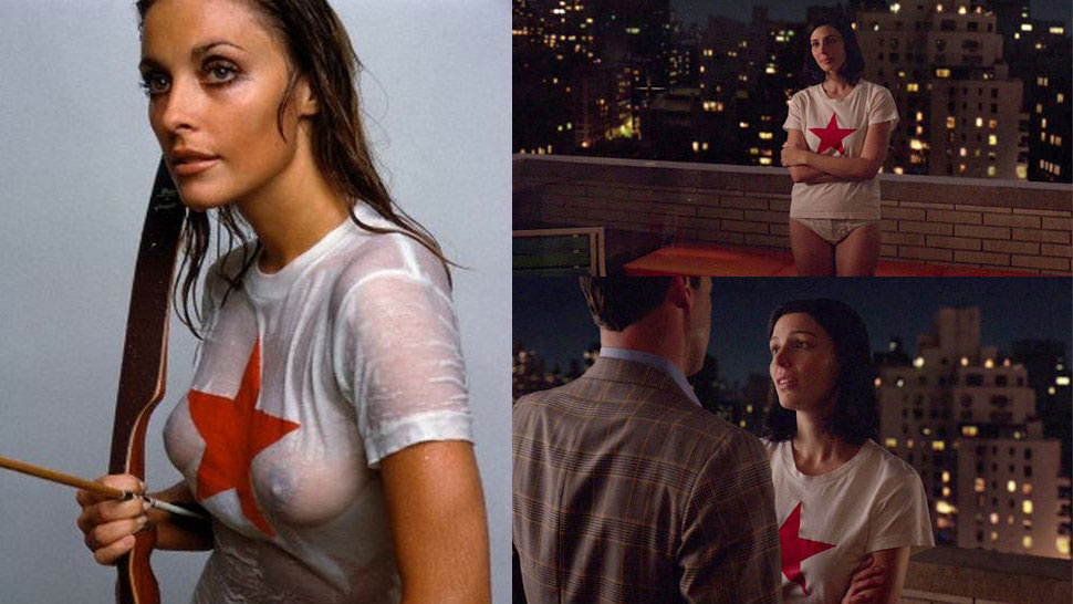 Megan Draper and her famous starred T-shirt