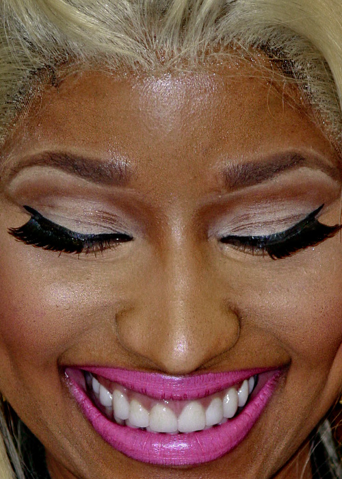 Nicki Minaj close up photo