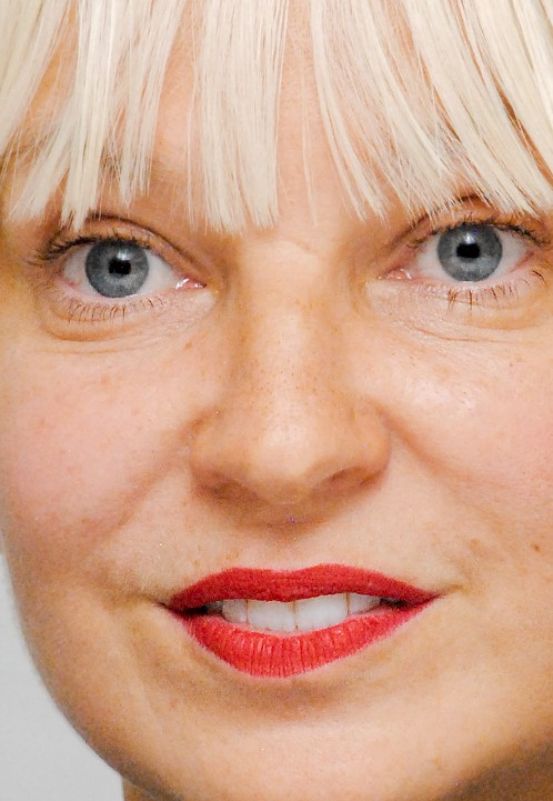 Sia close up photo