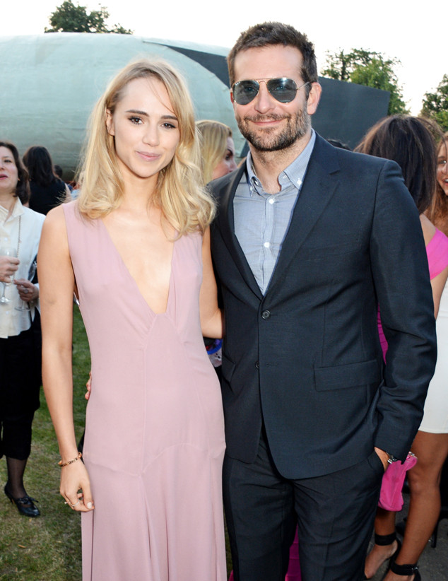 Suki Waterhouse and Bradley Cooper attend The Serpentine Gallery Summer Party co-hosted by Brioni at The Serpentine Gallery on July 1, 2014 in London, England.