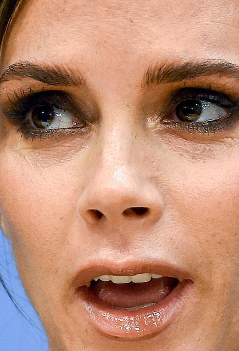 Victoria Beckham close up photo