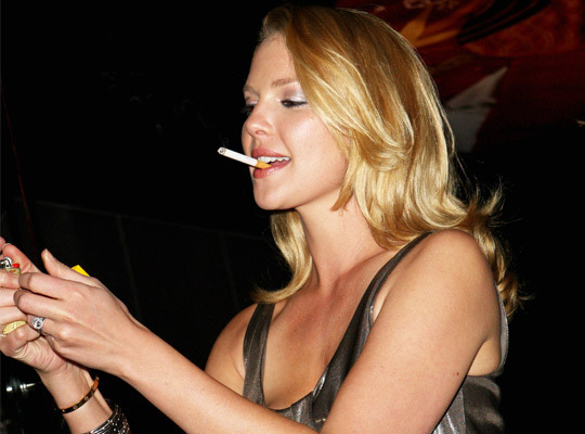 Celebrities Smoking Cigarettes - Harper's BAZAAR