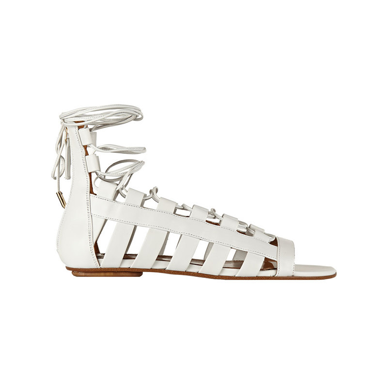 Aquazzura Amazon leather sandals, $750