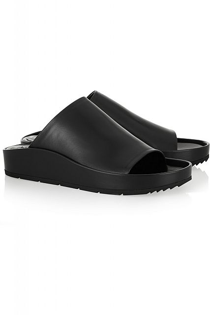 BALENCIAGA Leather slides