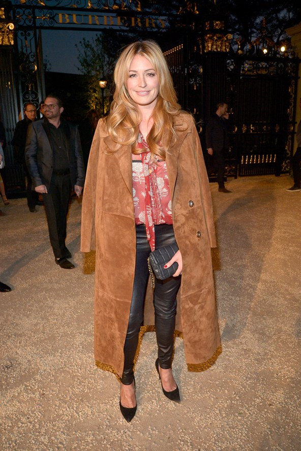 Cat Deeley at the Burberry event in LA 16Apr15