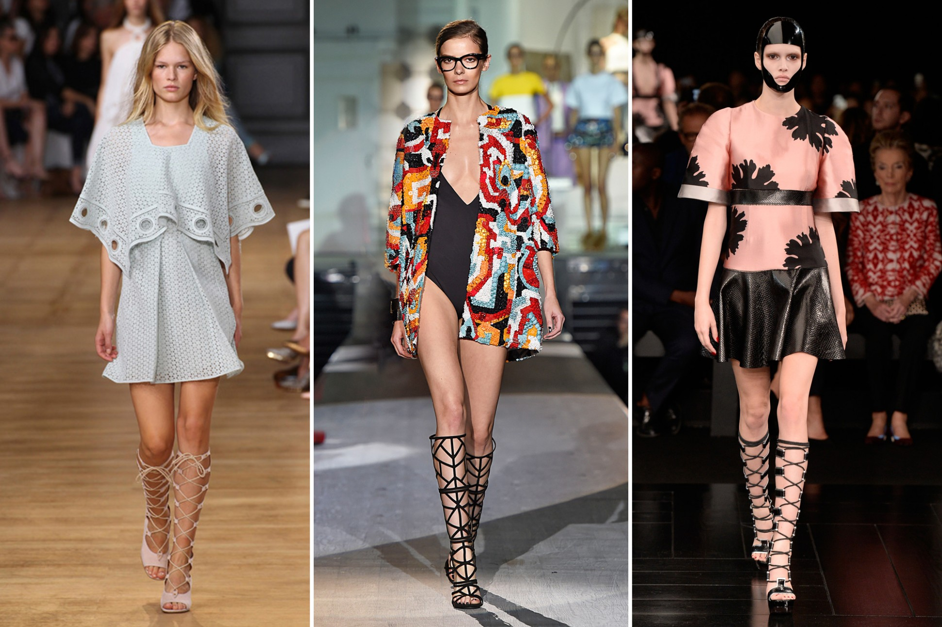 Gladiator Sandals Trend For 2015 Spring And Summer The