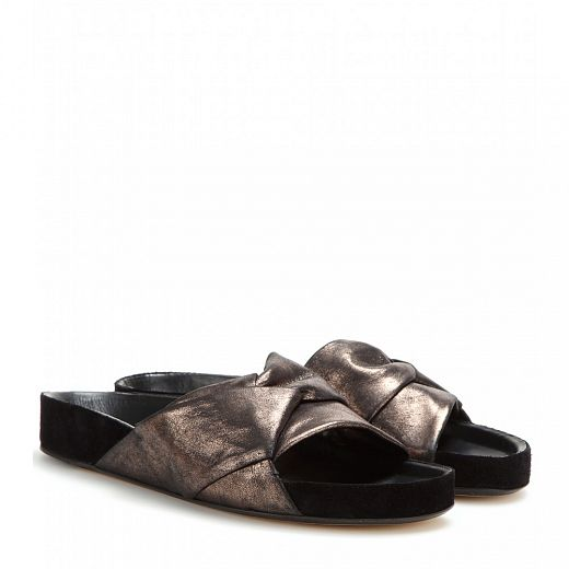 ISABEL MARANT Boop leather sandals