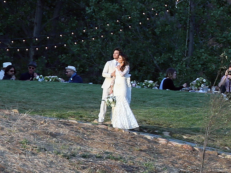A match made in vampire'a heaven: Nikki Reed has officially tied the knot with Ian Somerhalder.