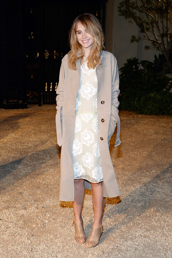 Suki Waterhouse at the Burberry event 16Apr15