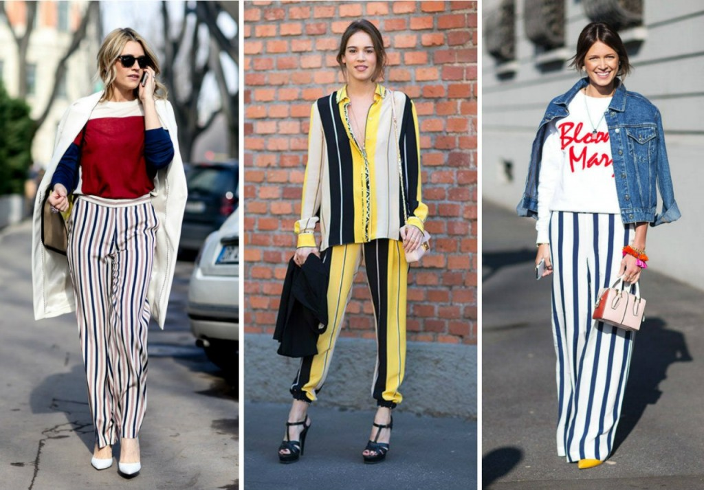 Stripes are in- black and white striped street style nyc