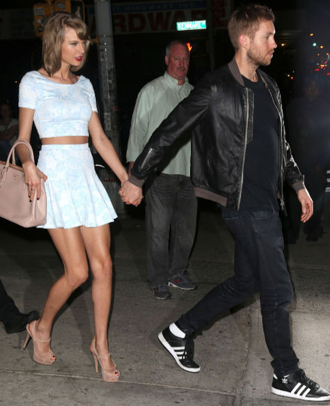 Calvin Harris and Taylor Swift are the best paid couple