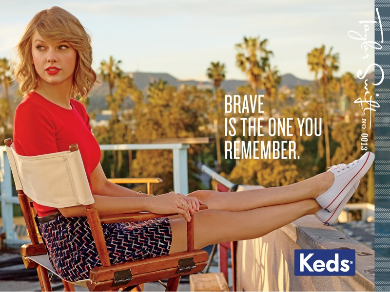 Taylor Swift Keds 2014 fall campaign