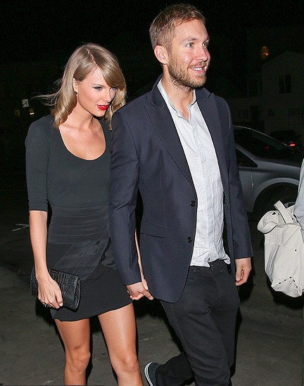 Taylor Swift & Calvin Harris Go on Dinner Date