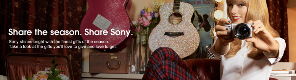 Taylor Swift Sony Commercial