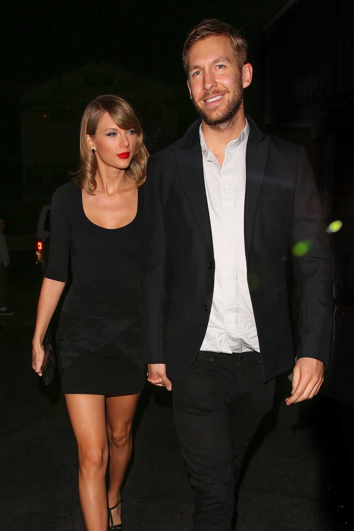 Taylor Swift out on a date with Calvin Harris in Los Angeles
